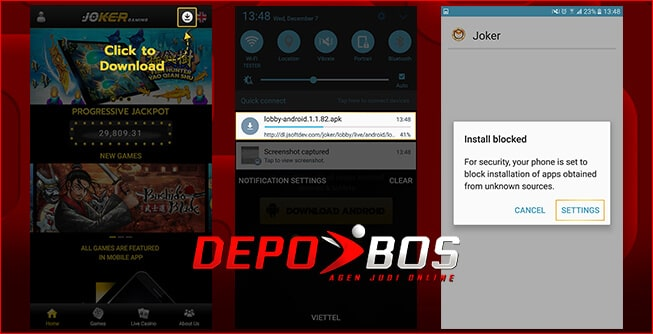 step download android 1